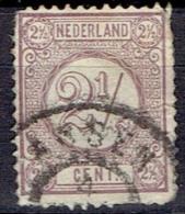NETHERLANDS # STAMPS FROM YEAR 1876  STANLEY GIBBONS   139 - Gebruikt