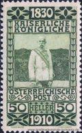 �sterreich 1910, Mi. 172 *