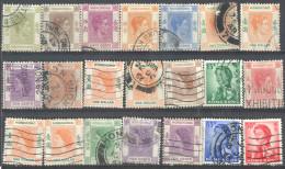 _4Zw606: Restje Van 21 Zegels...diverse HONGKONG.....om Verder Uit Te Zoeken... - Hong Kong (...-1997)