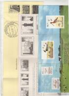 Vijf Verschillende Bedankkaarten Zomerzegels (w67) - Period 1980-... (Beatrix)