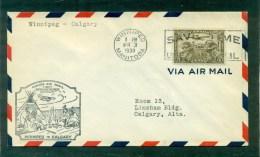 1er Vol Winnipeg/ Calgary 3 Mars 1930 - Primeros Vuelos