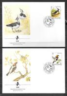 15 - 1991 - YOUGOSLAVIE - N° 2328 à 2331 - AUDUBON - FDC - Oiseaux