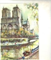75 - Cpsm  - PARIS - Notre Dame - Notre Dame De Paris