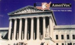 *U.S.A. - AMERIVOX* - Scheda NUOVA (MINT) - Stati Uniti