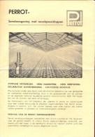 Pub Reclame Perrot - Serre Beregening - Waterspuiten - ALWA - Holstraat Gent - Publicités