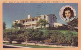 Home Of Jane Withers Westwood Los Angeles California 1950