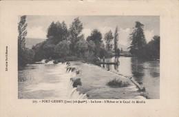 Cp , 39 , PORT-LESNEY , La Loue Et Le Canal Du Moulin - Autres Communes