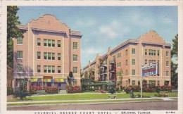 Florida Orlando Colonial Orange Court Hotel