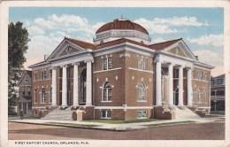 Florida Orlando First Baptist Church