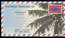 0500 -   Polynésie - Aérogramme N° 8 - Aérogrammes