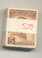 REPUBLICA ORIENTAL DEL URUGUAY 40 ANIVERSARIO DE LA MUERTE DEL PINTO JOSE MANUEL BLANES  AÑO 1941 YVERT NR. 529 MNH PAQU