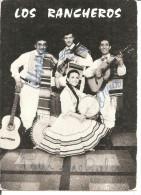 LOS RANCHEROS  Dédicacée - Chanteurs & Musiciens
