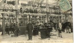 HARFLEUR - ATELIERS SCHNEIDER EN CONSTRUCTION AU POLYGONE MACHINES OUTILS - Harfleur