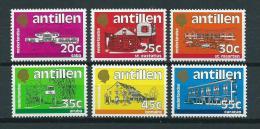 1983 Netherlands Antilles Complete Set Definitives MNH,Postfris,Neuf Sans Charniere - Curaçao, Nederlandse Antillen, Aruba
