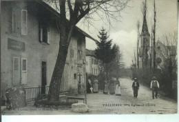 VALLIERES L'Eglise Et L'Ecole - France