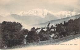 74 - Château De Domancy Et Le Mont Blanc - Sonstige Gemeinden