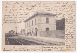 Grigny - La Gare (intérieur Sans Train)- Circulé 1903 - Grigny