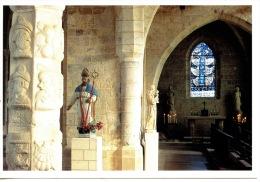 Varengeville Sur Mer : Saint Valéry Et Le Vitrail De Braque (église) N°5 (arts) - Varengeville Sur Mer