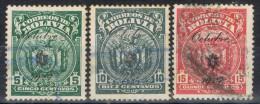 Serie Completa BOLIVIA, Num 142 - 143 - 144 º - Bolivia