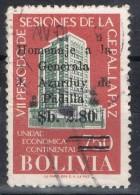 Sello BOLIVIA, Sobrecarga Sb 80 Sobre 750, Generala Padilla, Num 456 º - Bolivia