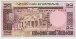 Somalia 20 Shillings 1980 Pick 27 UNC - Somalia