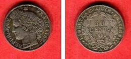 1895 A  TTB+  28 - G. 50 Centesimi