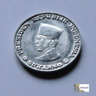 Indonesia - 1 Sen - 1962