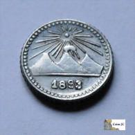 Guatemala - 1/4 Real - 1893 - Guatemala