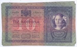 BILLETE AUSTRIA 10 KRONEN CIRCULADO - Austria