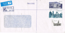 11123, Carta Certificada  RISSIKSTR. Johannesburg (south Africa) 1984 - África Del Sur (1961-...)