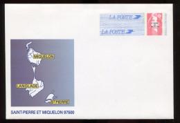 Entier - Marianne Du Bicentenaire - Interi Postali