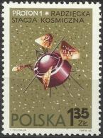 EARLY SOVIET SPACESHIP -  SPACELAB PROTON - POLAND 1966  MNH - Space