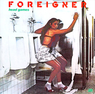 * LP *  FOREIGNER - HEAD GAMES (Holland 1979 EX-!!!) - Rock