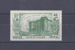 COTE-D'IVOIRE. 150e Anniversaire De La Révolution - Ivoorkust (1892-1944)