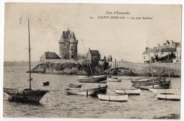 """SAINT SERVAN--1915--La Tour Solidor N°29 éd ELD--Série """"Côte D´Emeraude""""--carte Pas Très Courante - Saint Servan"""