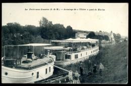 Cpa Du 77  La Ferté Sous Jouarre  - Accostage De L' Eider  - Quai De Marine    PY12 - La Ferte Sous Jouarre