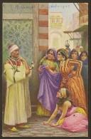 Sc�ne de vie Femmes et charmeur de serpent Beyrouth 1923 (L & L) Liban