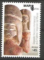 Museo De Arte Precolombino E Indígena. (Les Peuples Indigènes D'Amérique Du Sud). Un T-p Neuf ** - Uruguay