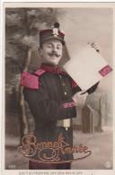 24246 Bonne Année - Regiment Douce Joie Lire Lettre Envoie -militaire Soldat Poste -2027 SIP - Nouvel An