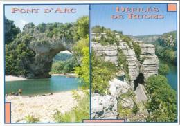 France, Pont D'Arc, Defiles De Ruoms, Used Postcard [14317] - Ruoms