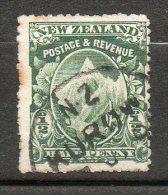 N ZELANDE Mont Cook 1903-08 N°112 - 1855-1907 Crown Colony