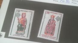 LOT 236020 TIMBRE DE ANDORRE NEUF* N�237/328 VALEUR 55 EUROS