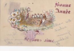 24251 Bonne Année - Rodoide Decoupis Oiseaux Moineau Chorale - Nouvel An