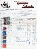 PARABIAGO-DITTA GIROLAMO LATTUADA-LIQUORI-PRODETTI CHIMICI-12-4-1950 - Italia
