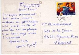 """Beau Timbre """"olympisme """"  / Cp , Carte , Postcard Du 10 VIII 1998  Pour La France - 1944-... Republique"""