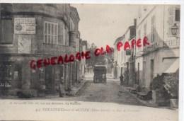 79 - COULONGES SUR L' AUTIZE - RUE DE FONTENAY - PUB MURALE CREME ECLIPSE CIRAGE- A LA MENAGERE - Coulonges-sur-l'Autize