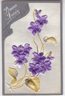 24260 Bonne Année  - EdDRGM 242325/7  Relief Violette