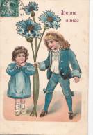 24262 Bonne Année  - Ed 396 ? -enfant Garcon, Bleu Bleuet - Nouvel An