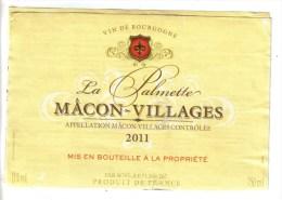 """LOT 3 ETIQUETTES BOUTEILLE VIN - Bourgogne """"La Calmette"""" Macon Village,  Pommard P. Mure, Pommard Bouchard - Collections & Sets"""