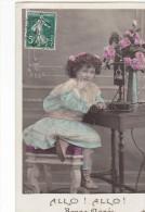 24266 Bonne Année - Editeur L 'etoile 4055 Paris -telephone Fillette